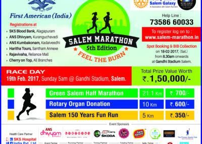 Salem Marathon, 10 x 12 , Clr